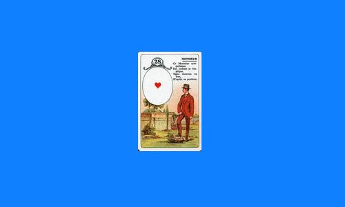 Les cartes amoureuses du petit Lenormand